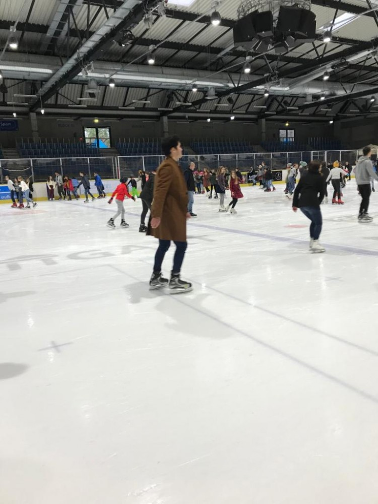 Ice Skating in Stuttgart - Eiswelt